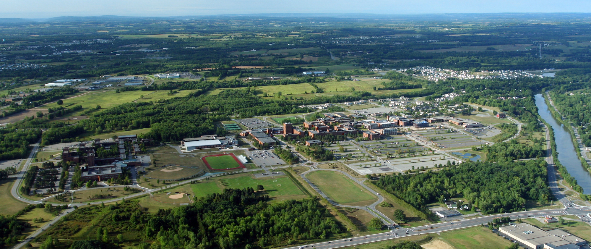 Aerial View of RIT.